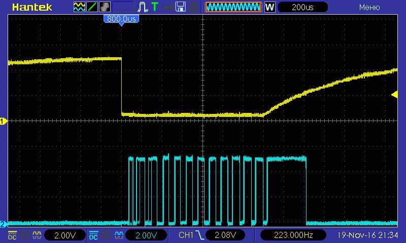 Простые двухпроводные интерфейсы в микроконтроллерных устройствах