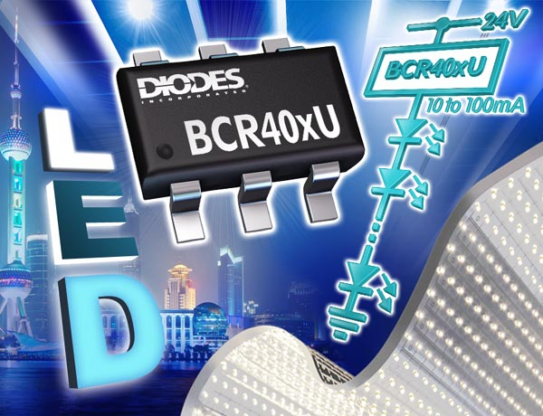 Linear LED Drivers from Diodes Incorporated Increase Efficiency in LED Strips