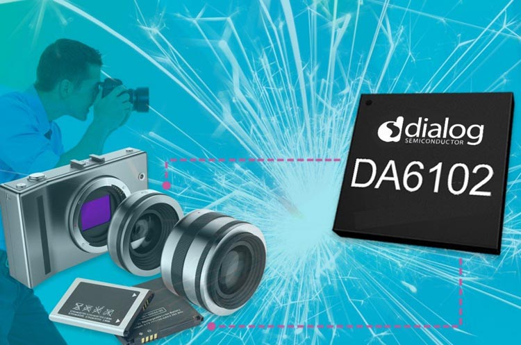 Dialog Semiconductor's Latest Compact PMIC Increases Power Efficiency for Digital SLR Cameras