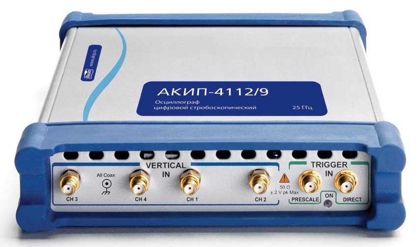 Стробоскопические USB-осциллографы АКИП - новый рубеж 25 ГГц