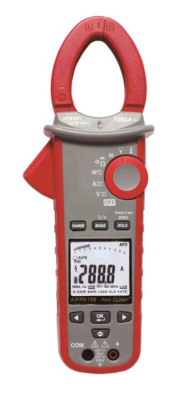 Компания APPA Technology представляет новую 150(В)-серию многофункциональных электроизмерительных клещей-ваттметров