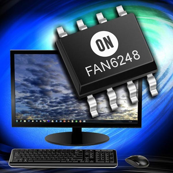 ON Semiconductor's Advanced Synchronous Rectifier Controller Brings Best-In-Class Simplicity, Reliability and Efficiency to LLC-based Power Supply Designs