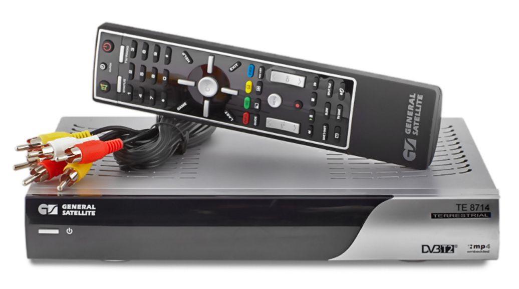 Приставка для приема цифрового телевидения GS TE8714