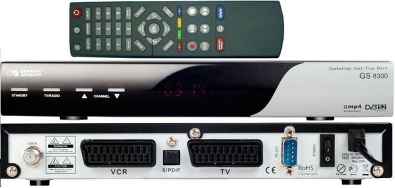 Спутниковый ресивер GS8300