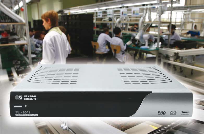 Приставка для приема цифрового эфирного телевидения GS TE-8511