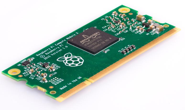 Raspberry Pi Launches the New Compute Module 3