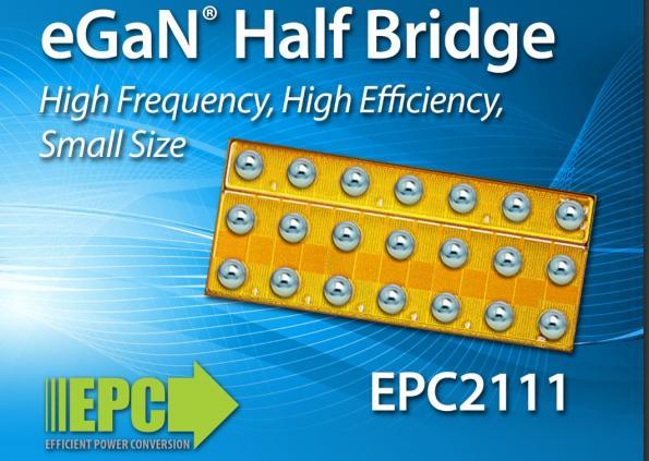 EPC представила монолитные нитрид-галлиевые полумостовые схемы для локализованных к нагрузке преобразователей энергии