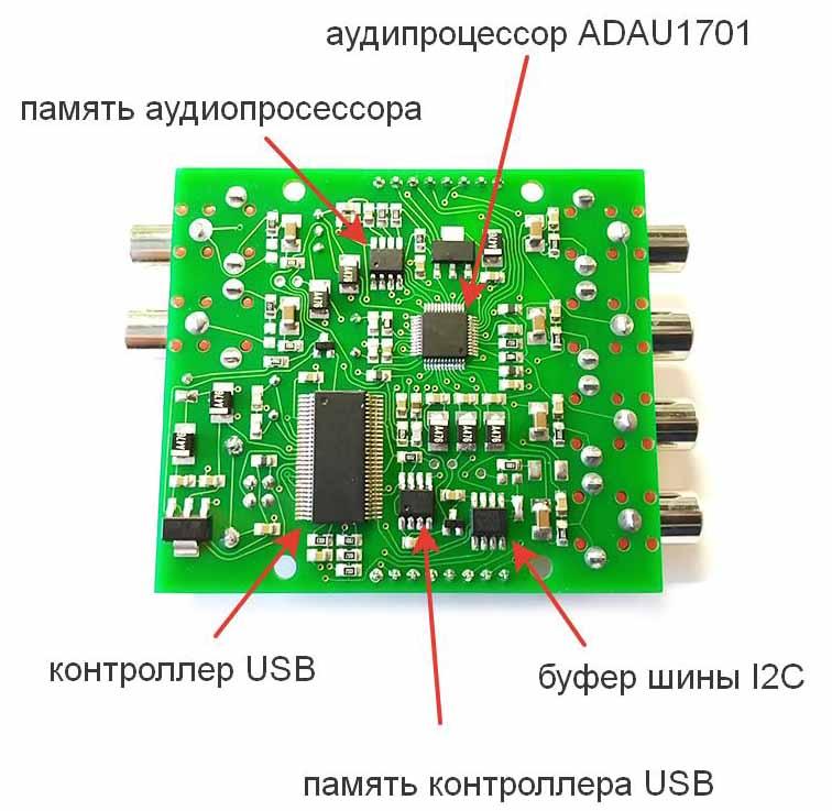 Внешний вид модуля BM2114dsp