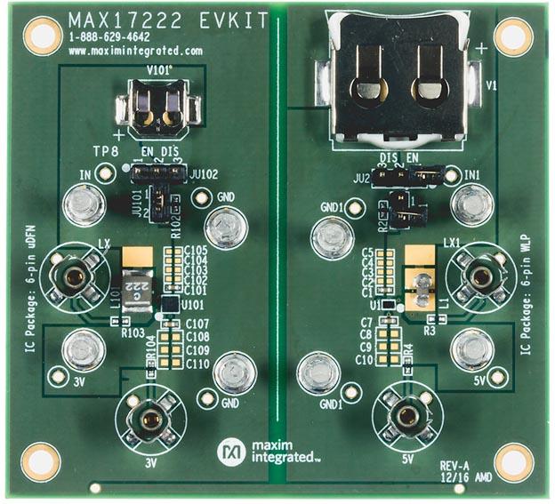 MAX17222EVKIT#: оценочный набор для микросхемы MAX17222