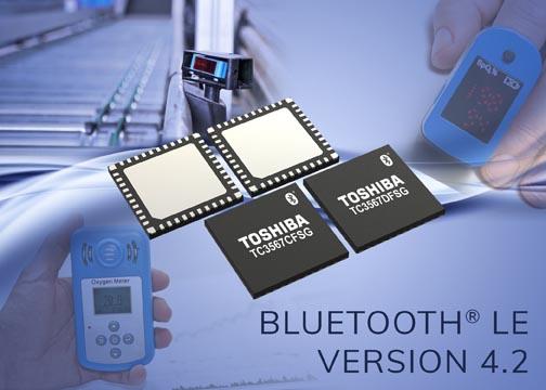 Новые ИС Toshiba для интеллектуальных устройств Bluetooth обладают самым низким в своем классе потреблением тока и обеспечивают повышенную безопасность