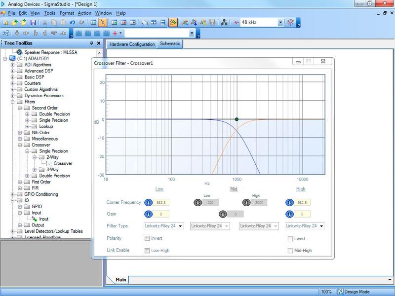 BM2114dsp - Цифровой процессор звука (часть 2). Разрабатываем реальный звуковой тракт