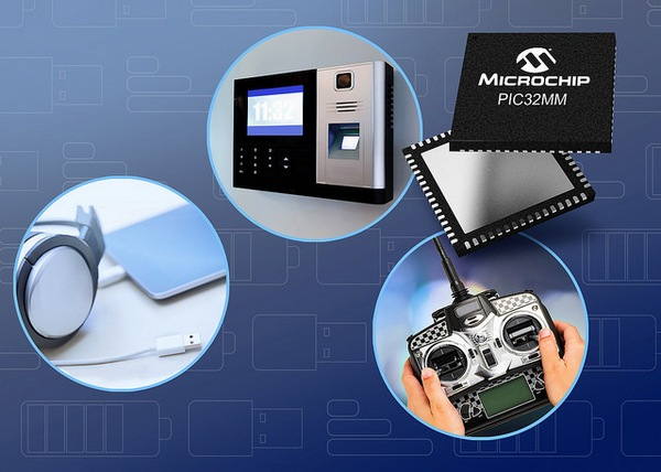 Microchip Extends eXtreme Low Power PIC32MM