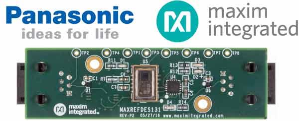Тепловое зрение для Arduino и не только! Двойной удар от Maxim и Panasonic