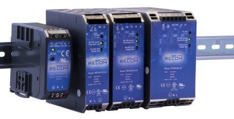 Компания Recom разработала новую линейку надежных импульсных преобразователей серии REDIN с выходной мощностью от 45 Вт до 480 Вт/модуль