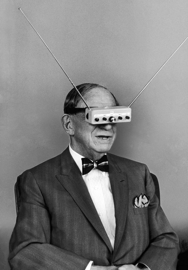 The Man Who Invented VR Goggles 50 Years Too Soon
