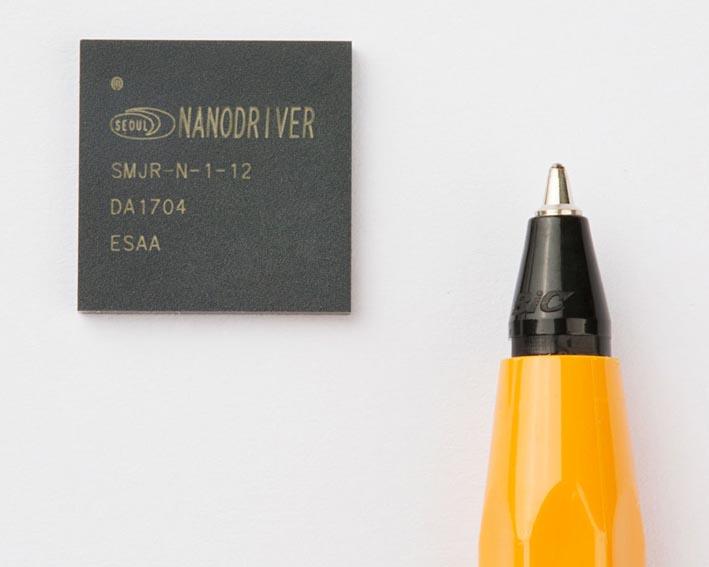 Seoul Semiconductor разработала самые миниатюрные в мире 24-ваттные драйверы светодиодов