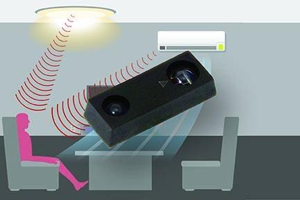 Высокочувствительный датчик приближения и окружающего света компании Vishay Intertechnology обнаруживает объекты на расстоянии до 1.5 м