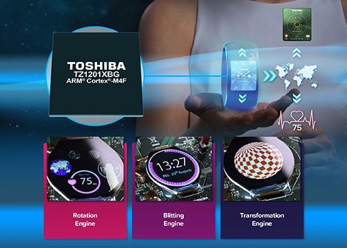 Toshiba начала производство графического процессора со сверхнизким энергопотреблением для носимых устройств