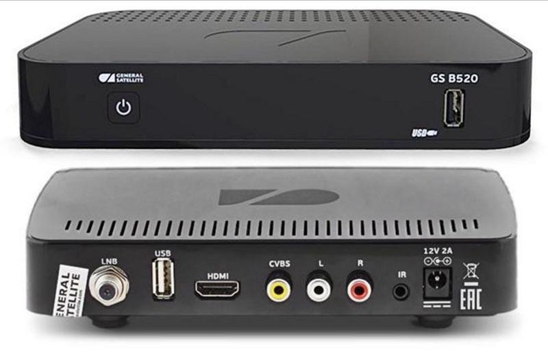 ТВ приставка GS B520.