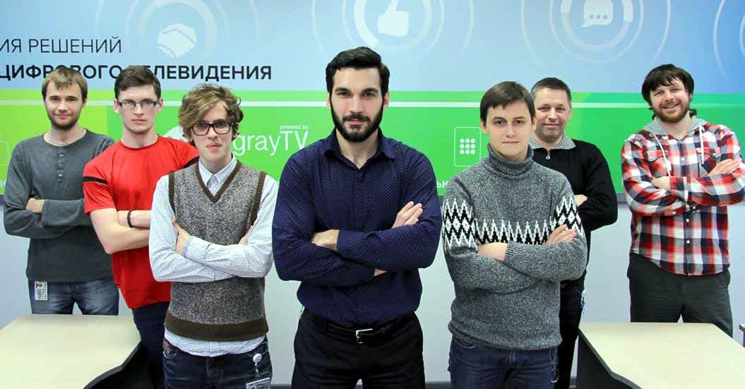 Команда молодых разработчиков GS Labs.