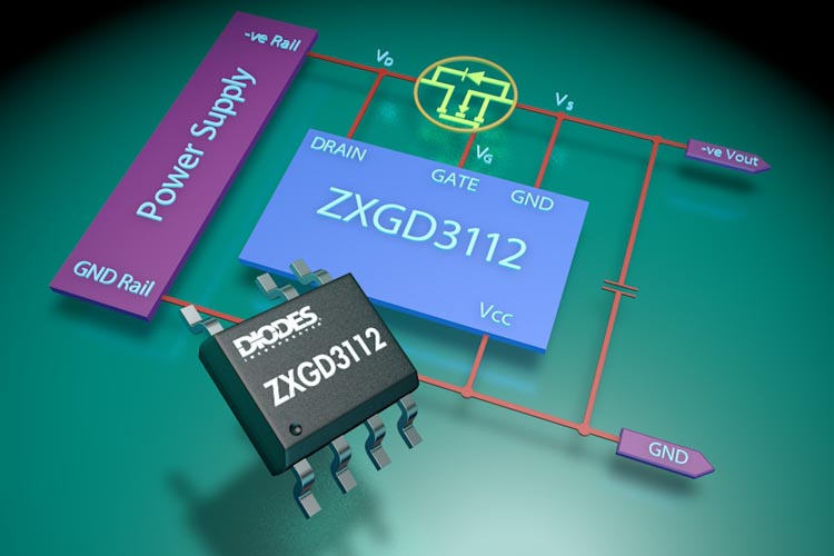Best-in-Class Active OR'ing MOSFET Controller from Diodes Incorporated Supports Power Supplies up to 400V