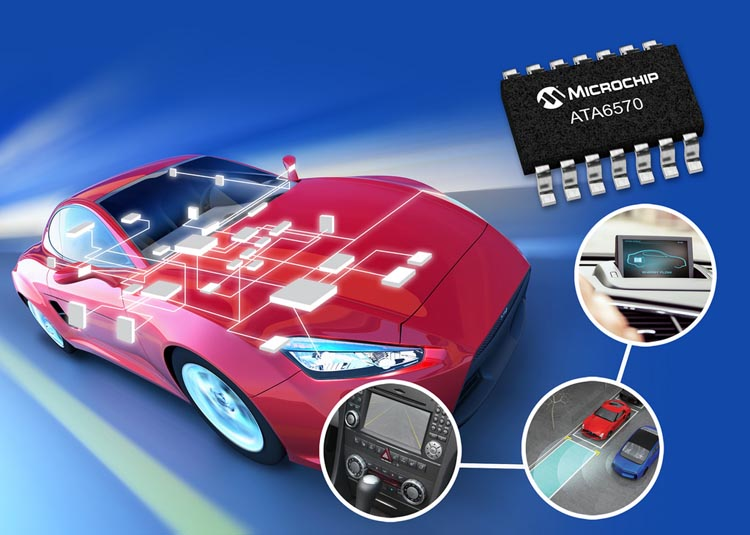 Industry's First CAN Flexible Data-rate and CAN Partial Networking Transceiver Family Including Automotive Grade 0 Qualified Parts