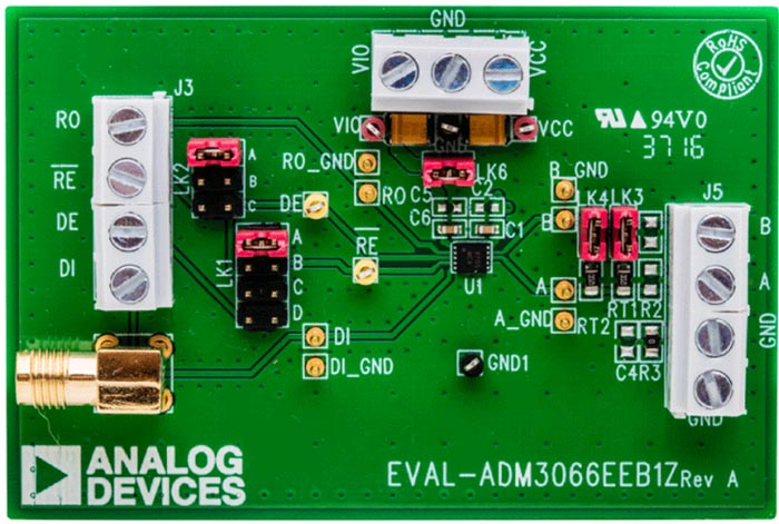 EVAL-ADM3066EEBZ Evaluation Board