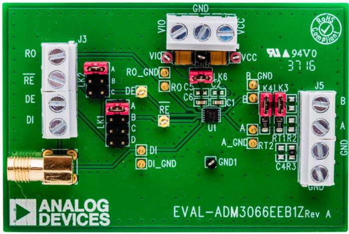 EVAL-ADM3066EEBZ Evaluation Board