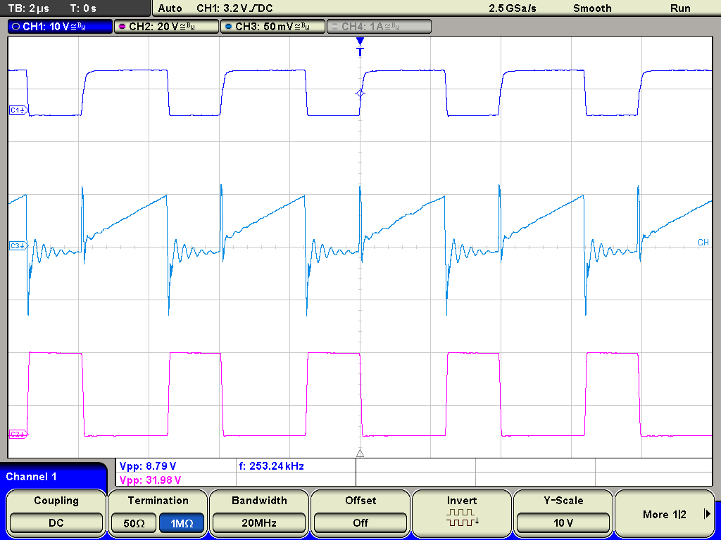 converter sprouts second output