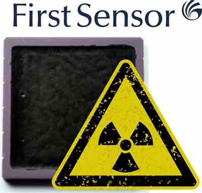 Датчики радиации от First Sensor