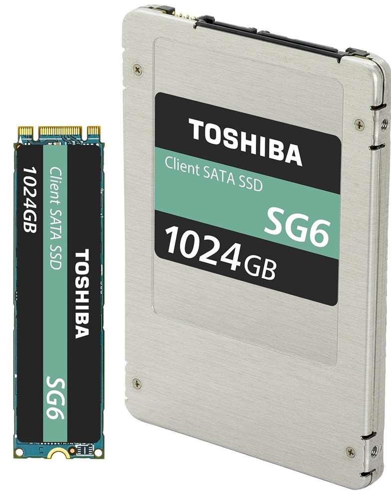 Toshiba Memory Corporation Unveils SATA Client SSD Utilizing 64-Layer, 3D Flash Memory