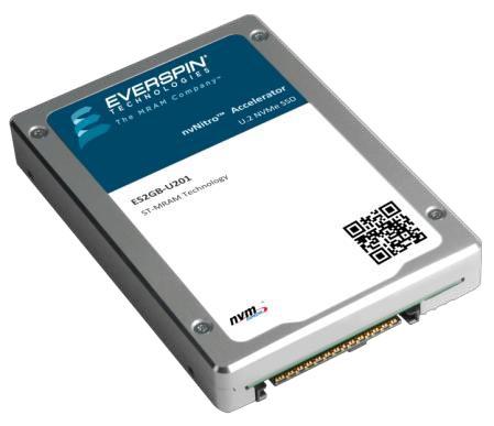 Everspin's nvNITRO storage accelerator