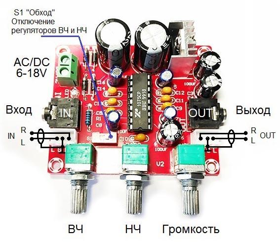 Обзор темброблока BM2112 на микросхеме XR1075 BBE