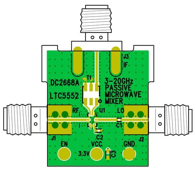 DC2668A - LTC5552 Demo Board