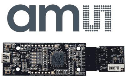 TMD3700 - датчик приближения, освещения и цвета от ams