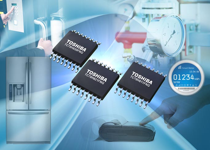Toshiba Launches H-Bridge Driver ICs for Low-Voltage 2.5V Drive