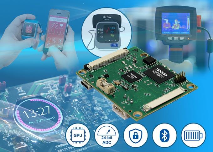 Новая эталонная плата Toshiba для графического процессора App-Lite TZ1200