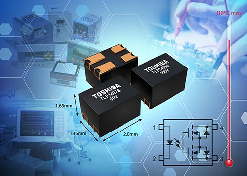 Toshiba Adds 60V and 100V Products to High Current Photorelays