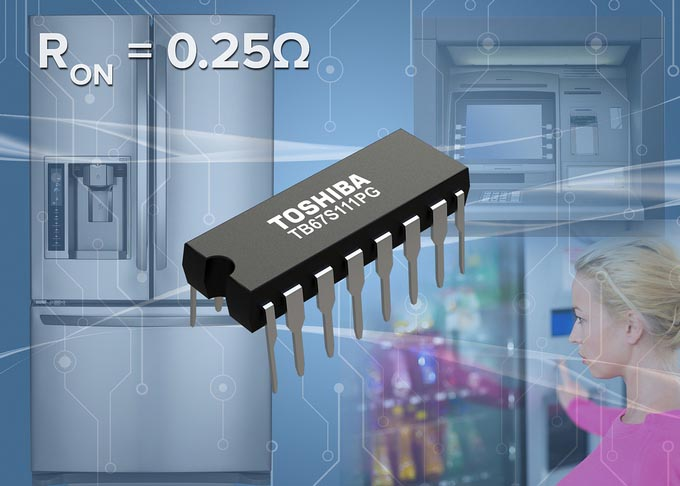 Toshiba Launches High-Voltage Multi-Channel Solenoid and Unipolar Motor Driver IC