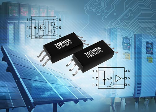 Toshiba's SO6L Package IC Photocouplers Now Have Option for Wide Leadform