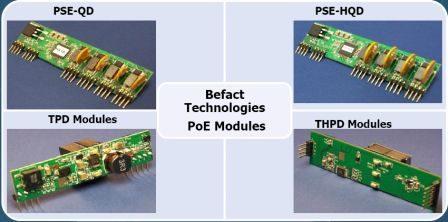 Модули питания для реализации технологии Power over Ethernet