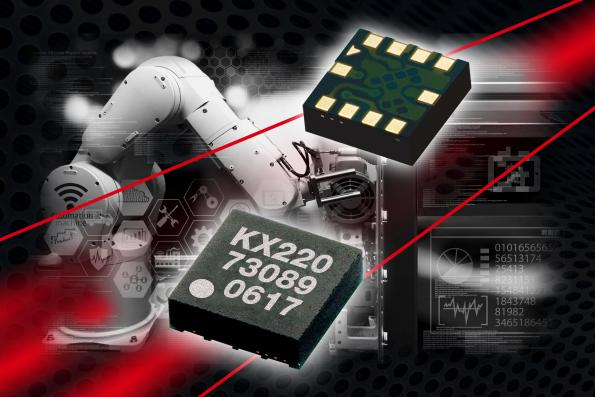Kionix's New KX220 Analog Accelerometers for the Industrial Market