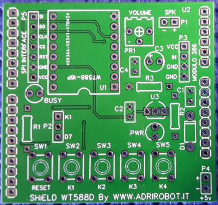 Real picture of PCB product
