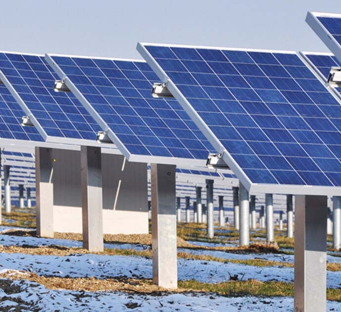 В Челябинской области начался монтаж первой промышленной солнечной электростанции