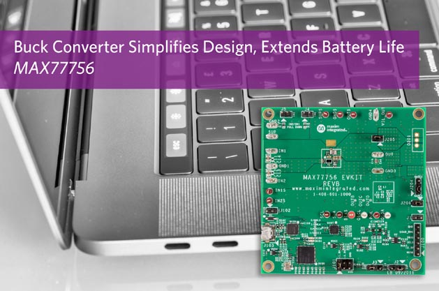 Extend Battery Life of USB Type-C Devices with Maxim's Flexible Buck Converter