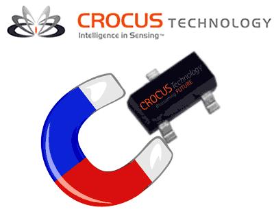 Фокус от Crocus: магнитные датчики с потреблением от 250 нА