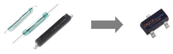 Замена герконов на полупроводниковые магнитные датчики