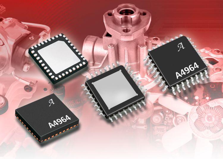 Allegro MicroSystems выпускает новый контроллер трехфазных бессенсорных двигателей
