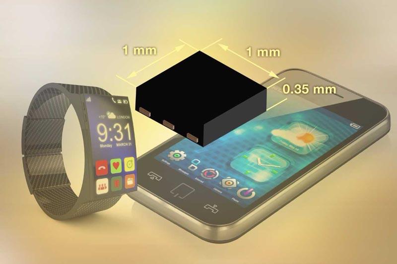 Однополюсный аналоговый переключатель Vishay Intertechnology экономит место в портативных потребительских и медицинских устройствах