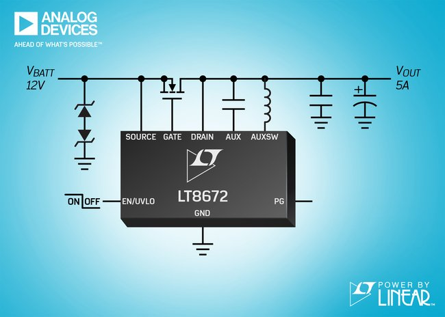 Analog Devices - LT8672